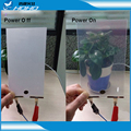Switchable Glass Film,Electric Glass Film,Private Smart Film for Window 21x29 cm
