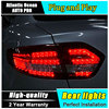 JGRT Car Styling For Renault Fluence LED Taillights 2010 2014 Almera SM3 Tail Lamp Rear Lamp