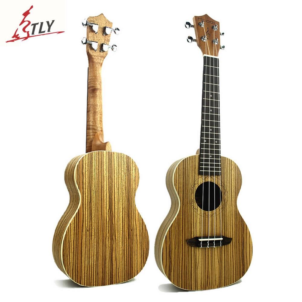 Mcool 23 pulgadas Concert Ukulele de Mini Guitarra Hawaii Uke Brasil Zebrawood U