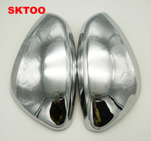 SKTOO Car Stying Fit For Peugeot 301 308 408 2008 308S Door Side Wing Mirror Chrome
