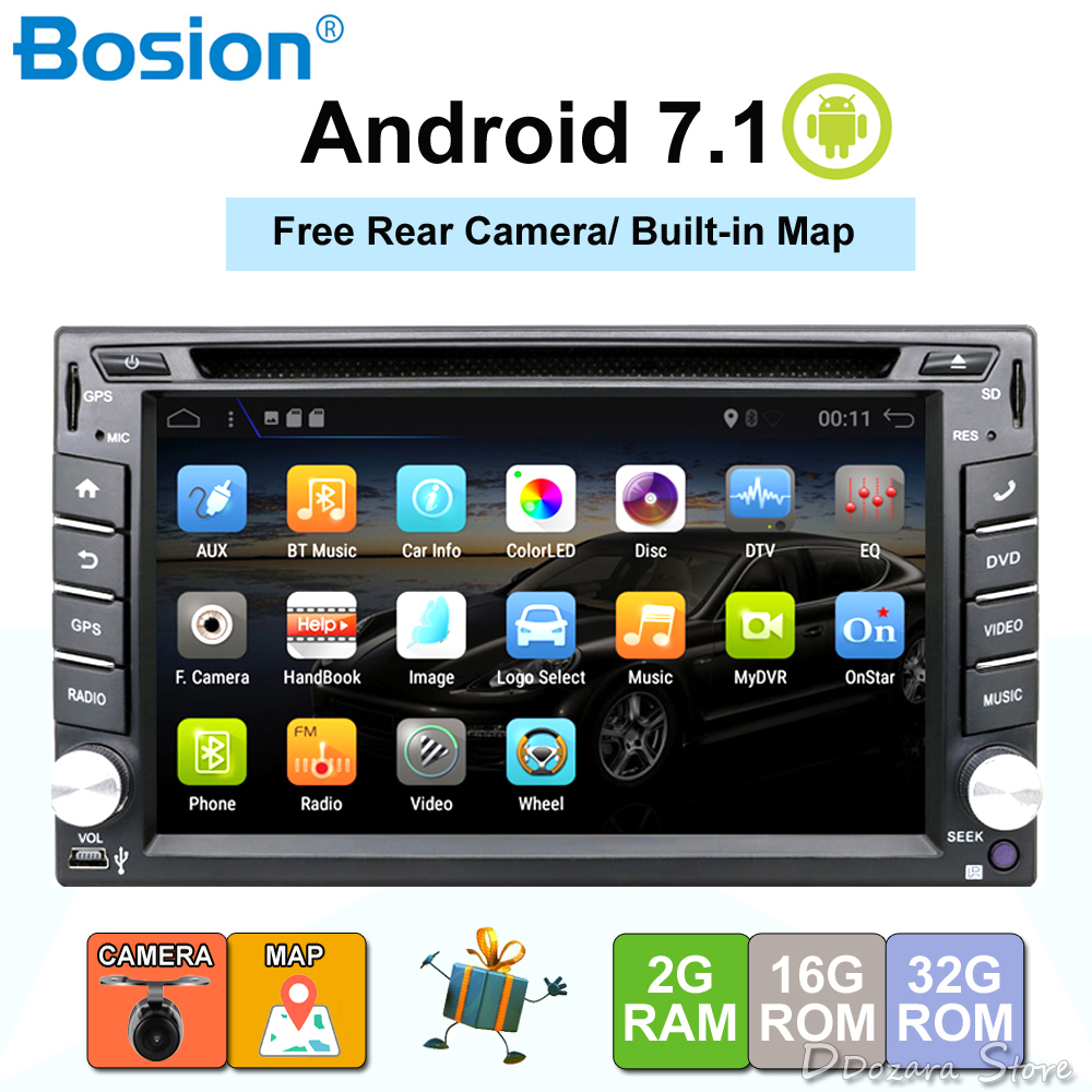 2 din android car radio tape recorder audio stereo for. Black Bedroom Furniture Sets. Home Design Ideas