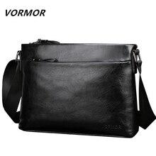 d92f597354af VORMOR New Famous Brand Men Bag PU Leather Man Messenger Bags Male Shoulder  Crossbody Bag(