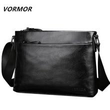 28d4fdec3d71 VORMOR New Famous Brand Men Bag PU Leather Man Messenger Bags Male Shoulder  Crossbody Bag(