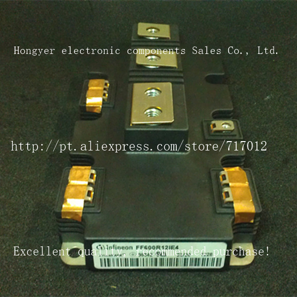 Free Shipping,FF600R12IE4  No New(Old components,Good quality)  IGBT Power module,Can directly buy or contact the seller golden color accessory screw spare parts shenzhen cnc machine