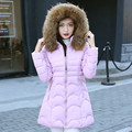 The woman made of goose feather Casual Down Coat Women Winter Jacket Women's Down Jackets Long Down Coat WWF01