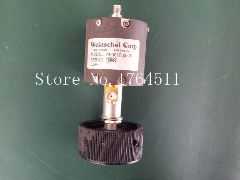 [BELLA] Weinschel AF901060-31 DC-18GHZ 60DB Adjustable Step Attenuator SMA