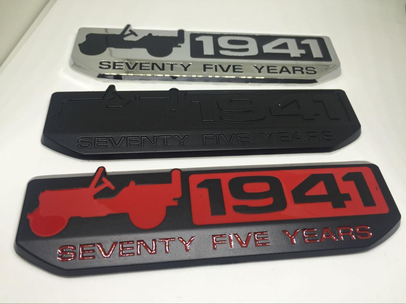 1x 3D SS INTERIOR Metal Emblem Badge Sticker Red