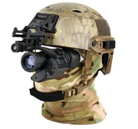 Tacitcal digital PVS 14 night vision sight rifle scope mount on the helmet for hunting/camping VI7007