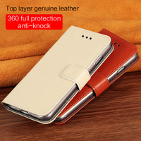 LANGSIDI brand mobile phone shell calf skin full thin litchi magnetic buckle phone shell for iPhone X mobile hand made