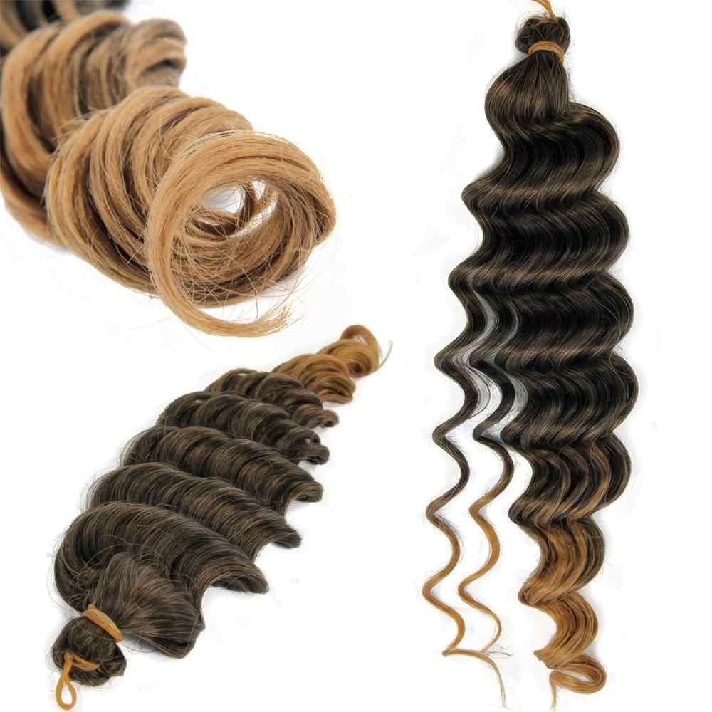 Кудряшки оплетка Радуга плетение волос 22 ''плетение волос канеколон Наращивание волны океана крючком оплетка фиолетов