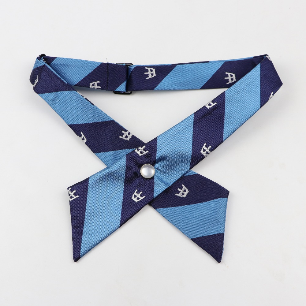 Simple Streamer Bow Tie Ribbon Lotus Collar Shirt Blouse Fake Detachable Collars For Women Ladies Bowtie Ties