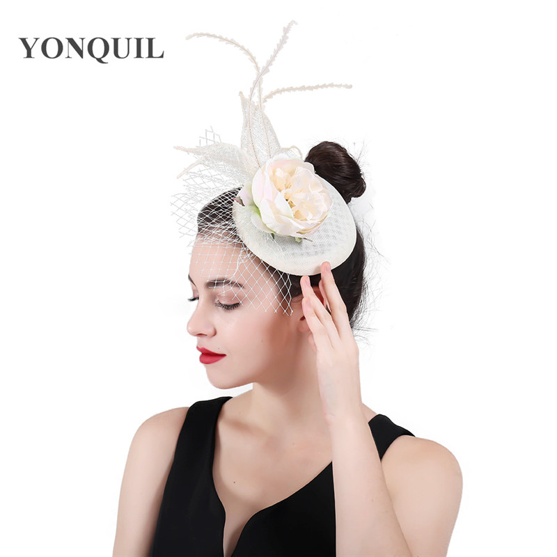 Wedding Headpiece For 2018: Aliexpress.com : Buy 2018 New Imitation Sinamay Hair Clips
