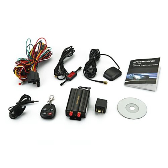 TK103B Cars Auto GSM/ GPRS/ GPS Device Locator Alarm Tracker Set + Remote Control