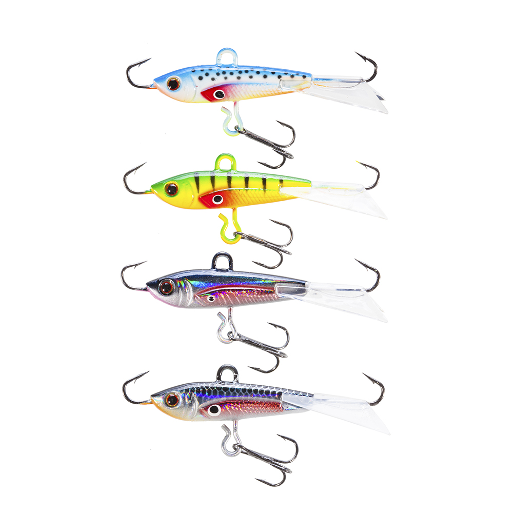 Seanlure Combo Minnow 6cm 10.5g Ice Fishing Lure Ice Jig Tackle seanlure 101 pcs lure kit free tackle box soft lure glow minnow fly fishing frog grub hook connector clip jig head craw leader