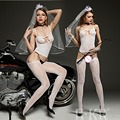 Sexy Lingerie Hot Bodysuit Sexy Costumes Intimates Women Bodystocking Open Crotch Sex Products  Erotic Lingerie Chemises Qq062
