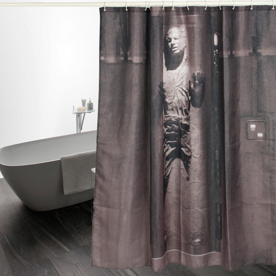 Scary shower curtain - Personality Scary Mummy Zombie Printing Waterproof Shower Curtain With Hooks Bathroom Decor Polyester Bath Curtain Shower