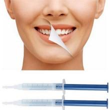 2pcs 치아 미백 젤 구강 위생 과산화수소 치과 표백 시스템 구강 젤 치아 화이트닝 치과 젤 무료 배송