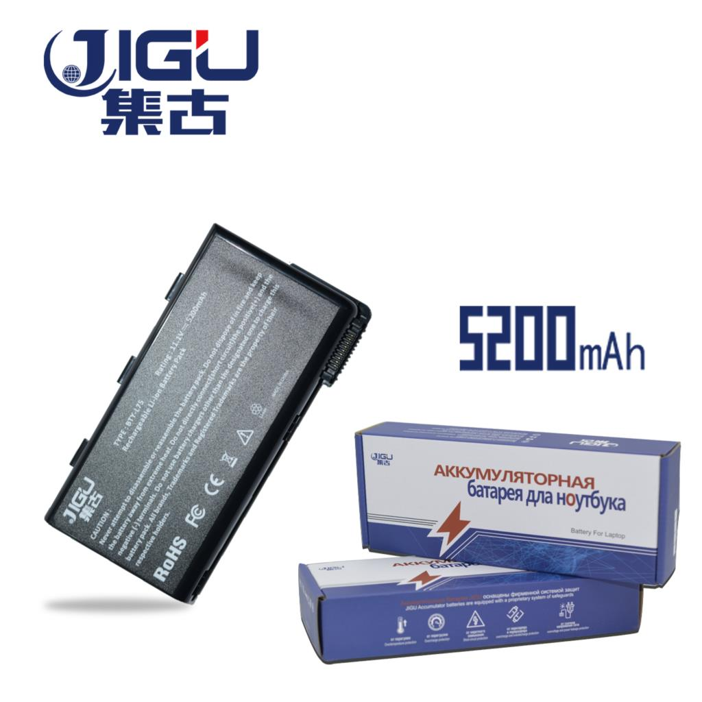 JIGU Bty L74 BTY-L74 Laptop Battery For MSI A5000 A6000 A6200 CR600 CR600 CR620 CR700 CX600 CX700 All Series MSI CX620 11 1v 9 cells bty l75 bty l74 laptop battery for msi cx600x cr610 cr620 cr700