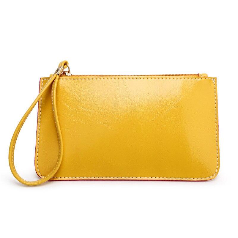 Pu Leather Wallet Women Coin Pouch Bag Wristlet Phone Wallet ...