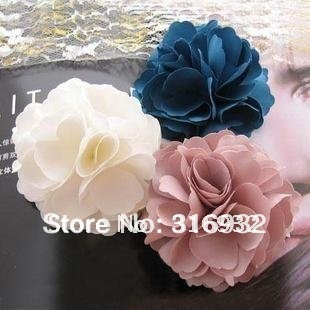 Sales promotion! Camelia flower hair clip,fabric flower brooch, hair accessory,free shipping