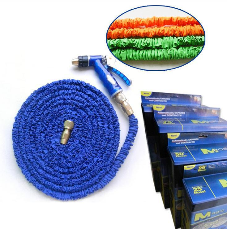 Flexible Garden Magic Water Hose 75FT Expandable Pipe Expanding