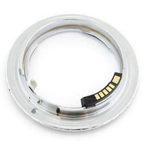Image 3 - AF Confirm With Chip for Nikon F (Non AI, Ai, AIS) Lens Adapter to FOR Canon EOS AI EOS camera 500d 600d 50d 60d 5d2 550d