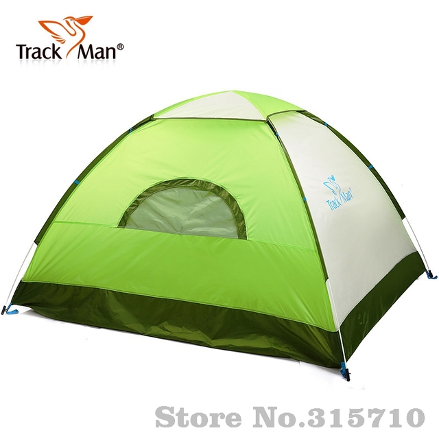 Trackman quick open beach family tent C&ing Tent 3-4 Person One Bedroom 3 Season  sc 1 st  AliExpress.com & Trackman quick open beach family tent Camping Tent 3 4 Person One ...