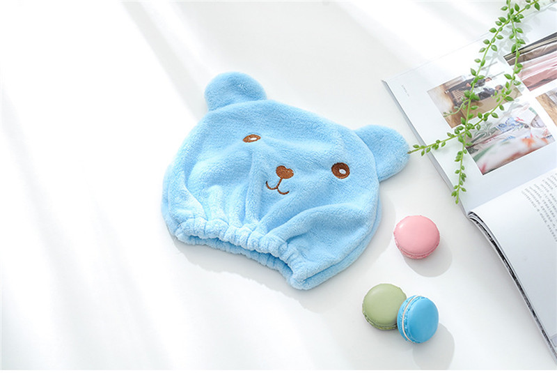 New-Cute-Bear-Bath-Cap-Soft-Microfiber-Hair-Turban-Quickly-Dry-Hair-Hat-Wrapped-Towel-Bathing (1)