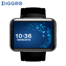 "Diggro DM98 Smart Watch Android 5.1 2.2"" Display 320*240 LED Dual Core 1.2G 900Mah Camera WIFI 3G QQ GPS App For Smartphone(China)"