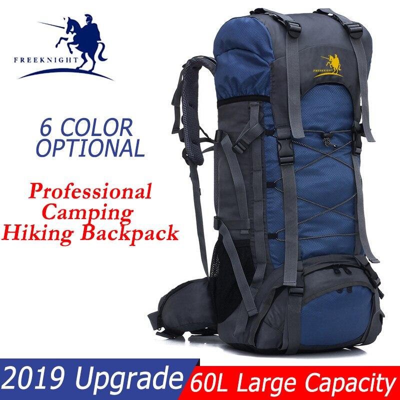 Grande Promo sac à dos de Camping résistant à l'eau 60L alpinisme Camping randonnée sac à dos femmes hommes sac de voyage livraison directe