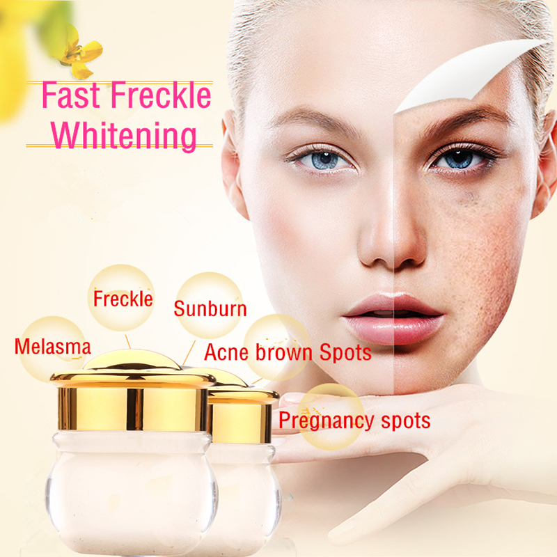Dimollaure herbal whitening cream Snail serum Moisturizers Freckle melasma speckle sunburn pigment Melanin Acne Spots face care in Facial Self Tanners Bronzers from Beauty Health
