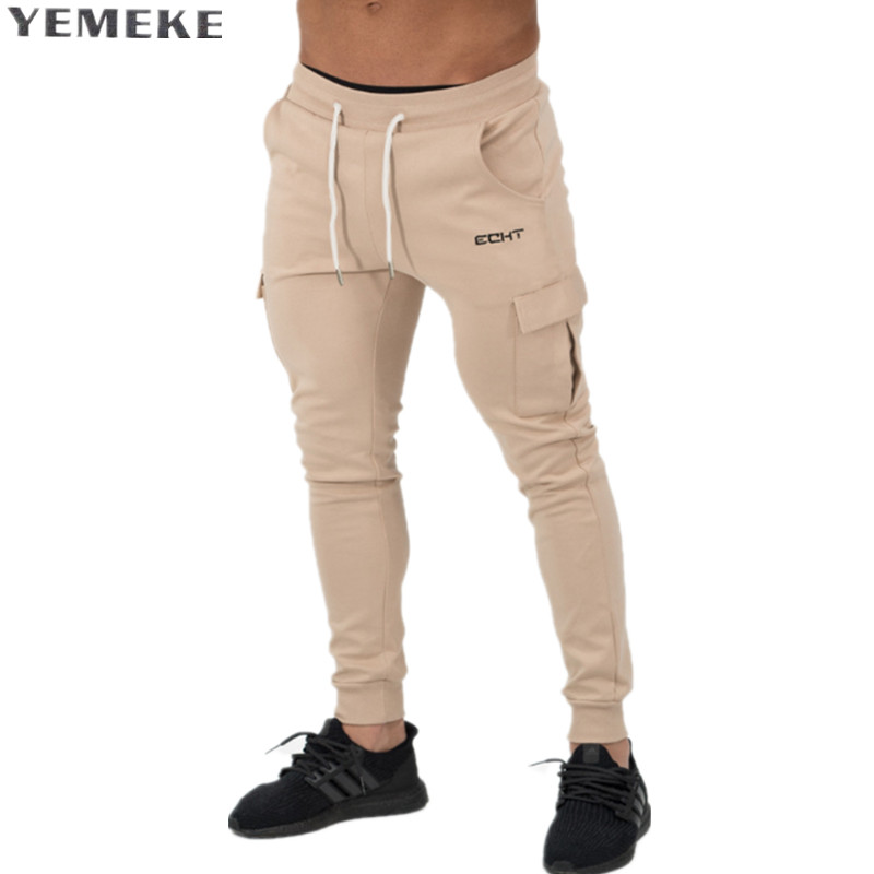 2017 Autumn New Compress Gyms Leggings Men Fitness Casual Workout Leggings Summer Sporting Tight  Cotton Male Long Pants