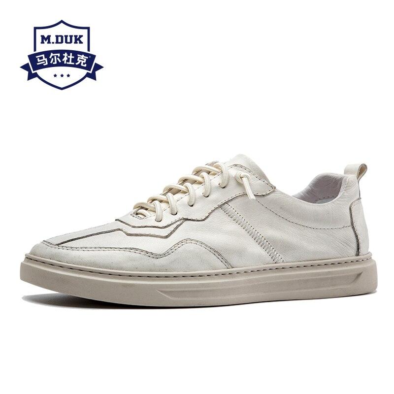 Blanc Hommes allumette Coréenne Tout Mode Foncé Casual Chaussures Été Vache Jeunesse Cuir Nouveau En Kaki De Respirant Real Sneaker DYEHe9W2I