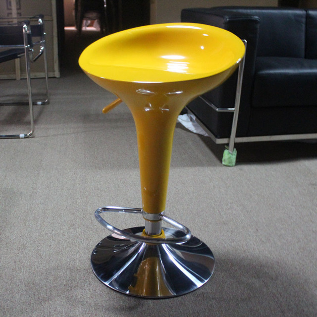 Cool Booth Special Bar Chair Stylish Casual Upscale Art Swivel Abs Mini Chairs Bistro
