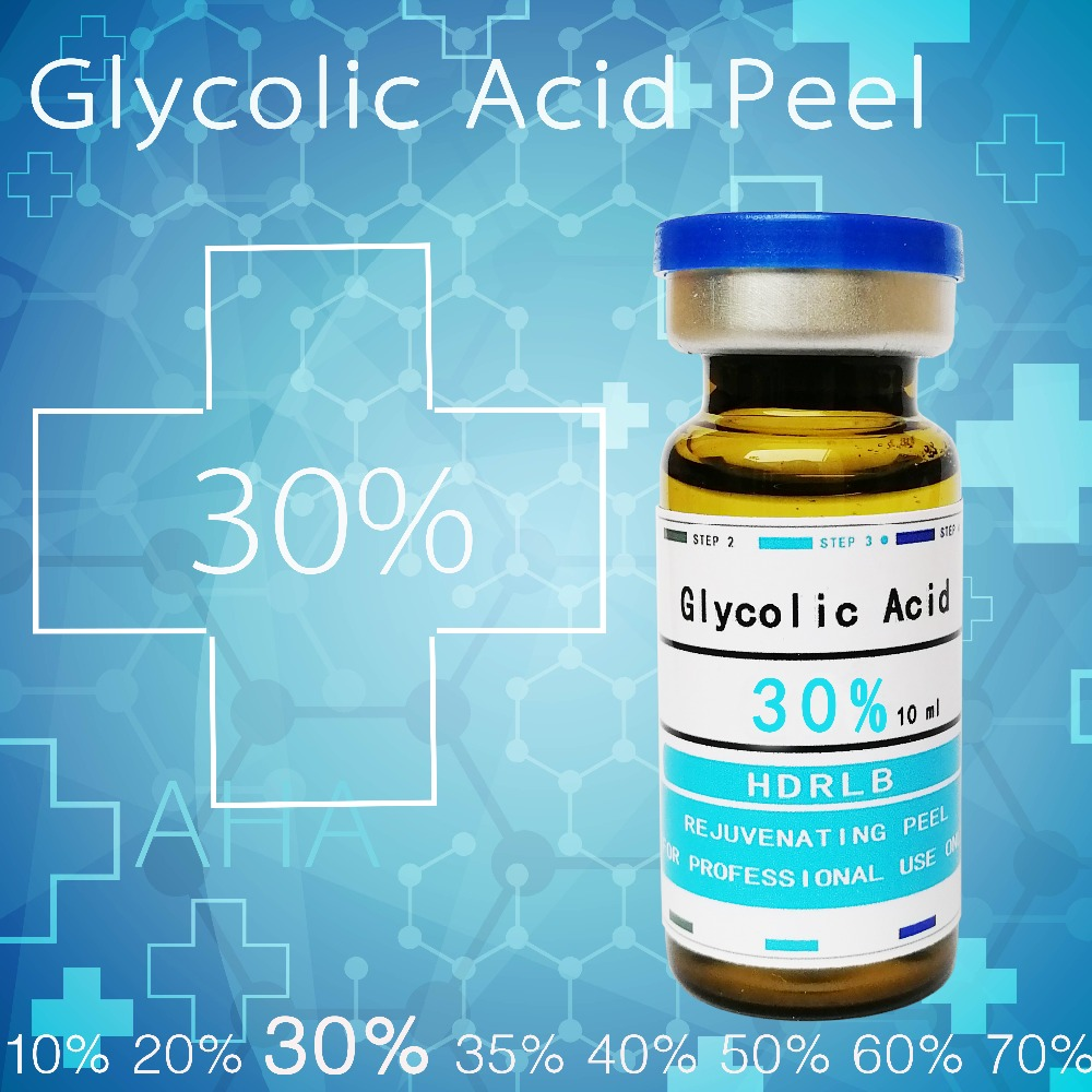 Crazy Sales Glycolic Acid Skin Peel 30% Acne Remover Sun Burn Blackhead Clogged Pores Dull Skin  Cream Face Exfoliator