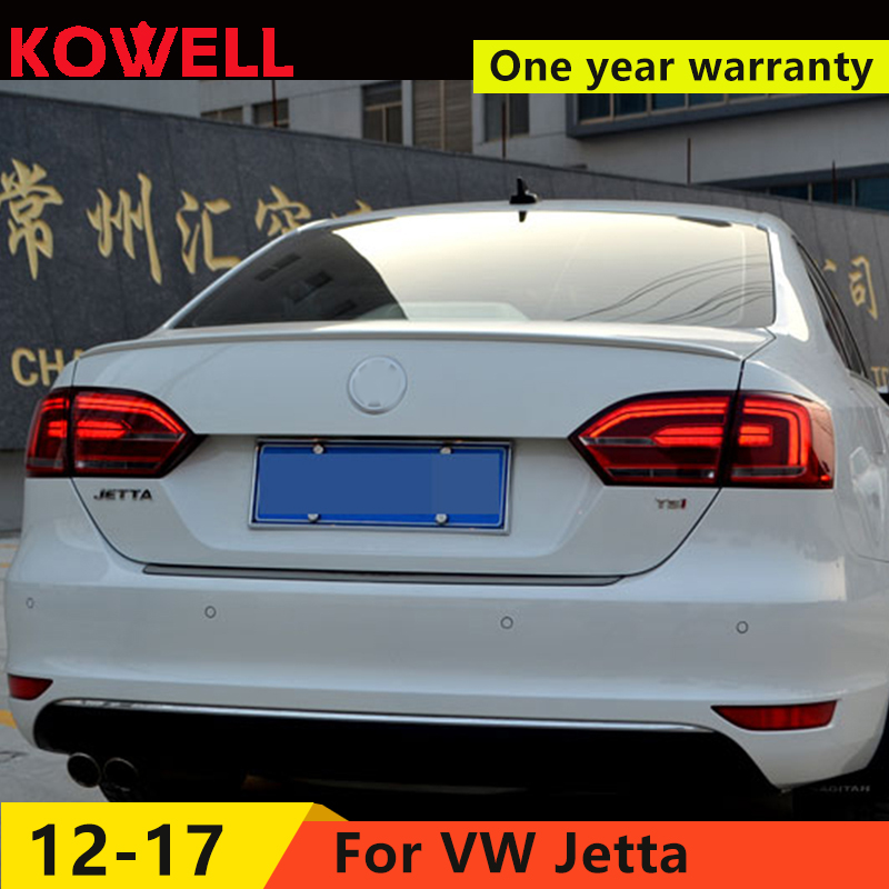 KOWELL Car Styling for  vw jetta LED taillights GLI MK6 LED rear lamps parking NCS For vw jetta led rear lights car styling