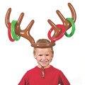 Дети Рога Лося Надувные Игрушки Дети Рога Лося Игрушки Симпатичные Голова Оленя Форма Наконечником Игры Для Игр На Открытом Воздухе Рождественские Декор