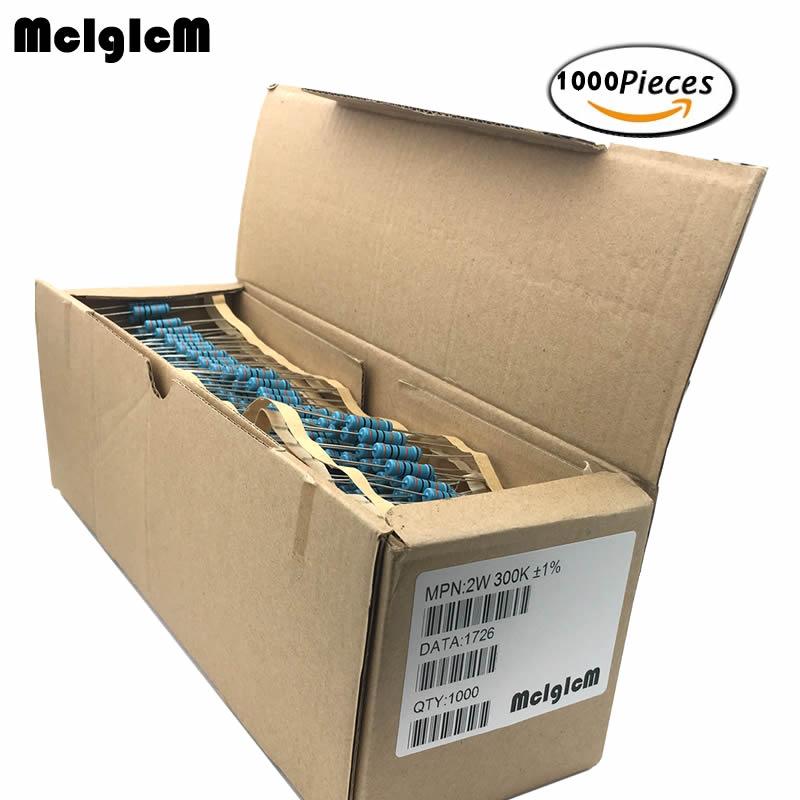MCIGICM 2W Metal film resistors 1 5R 2 2R 0 33R