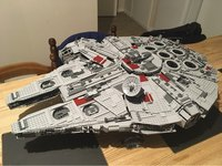 Lepin 05033 Star Wars Ultimate Collector Millennium Falcon Model Building Blocks Kit Brick Toy Compatible 10179