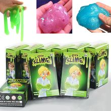 Barro Plastilina Kit Kids Gloop Sensorial DIY Juguete Ciencia Juegos Divertidos(China)