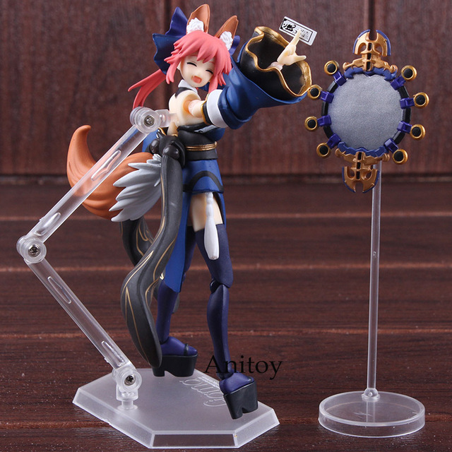 Anime Figma 304 Fate/EXTRA Caster Tamamo No Mae PVC Fate Extra Max Factory Figma Action Figure Series Collectible Model Toy 3