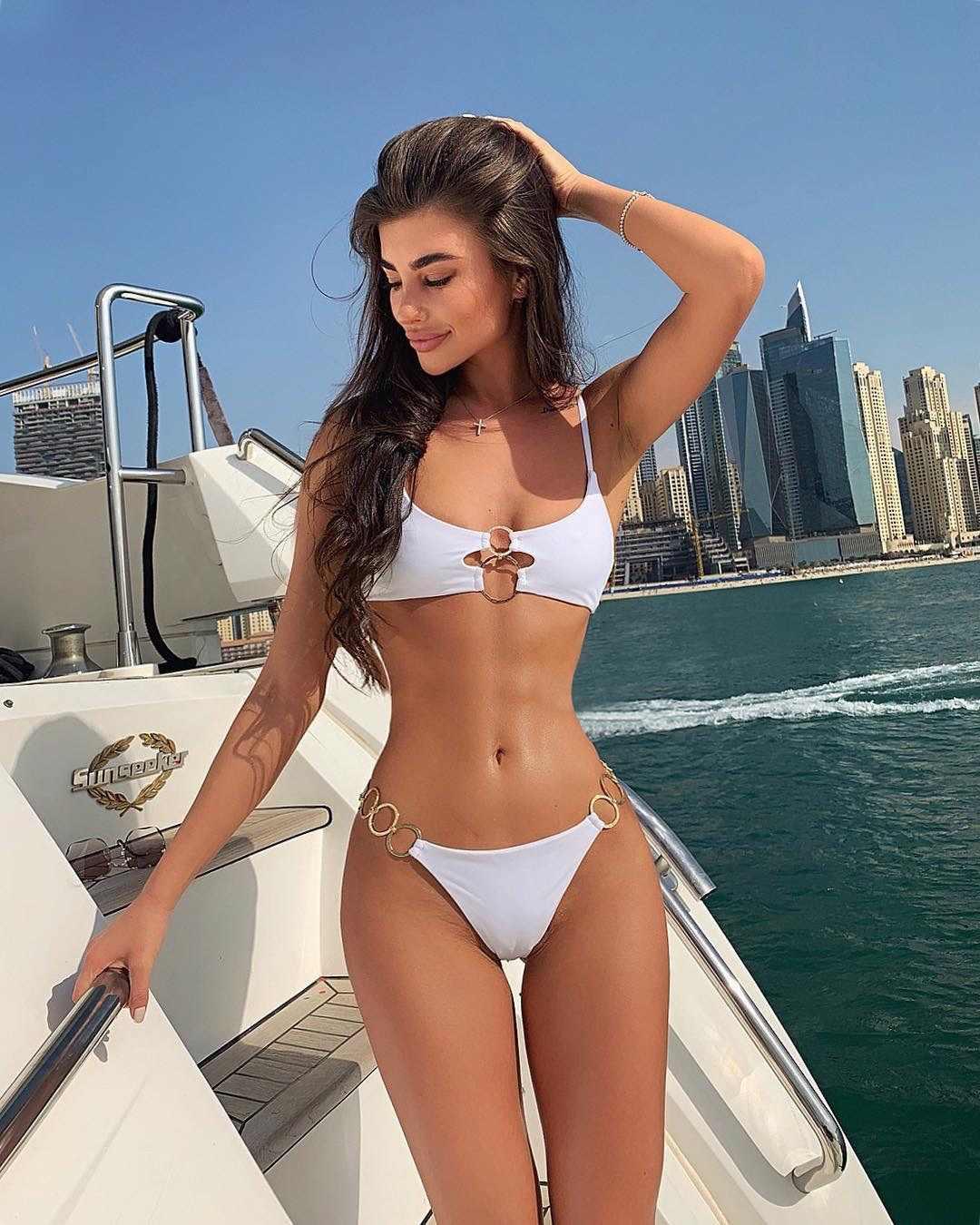 ביקיני סט 2019 מכירה לוהטת פשוט טבעת אביזרי נשים בגדי ים ביקיני סגנון חדש לדחוף את מרופד בריכת בגד ים