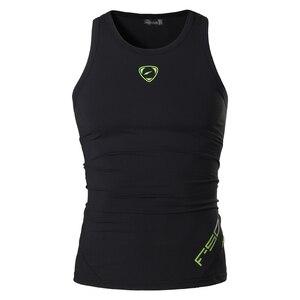 Image 2 - jeansian Sport Tank Tops Tanktops Sleeveless Shirts Running Grym Workout Fitness Slim Compression LSL3306
