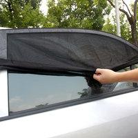 Professional Visor Interior Accessories Windshield UV Protection Sunshade 2PCS Window Sun Shade Side Mesh Cover