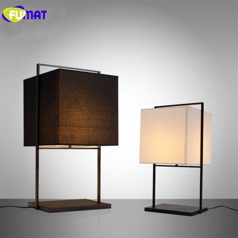 Фумат современный простой Спальня настольная лампа ночники китайский Стиль настольная лампа Отель Club Room украшение стола с подсветкой