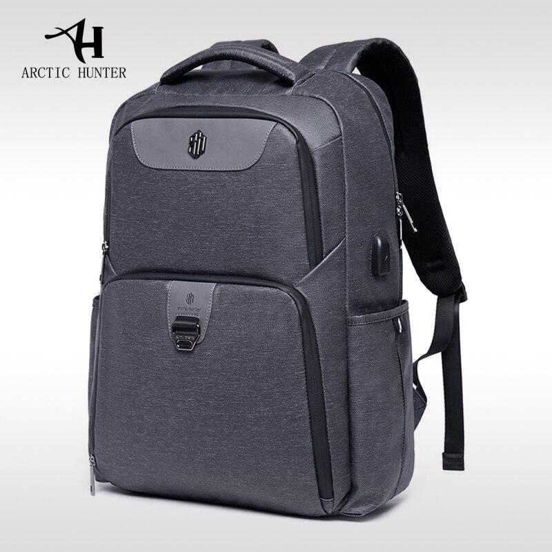 Arctique HUNTER nouveau sac à dos pour hommes sac d'ordinateur sac de voyage d'affaires voyage tendance décontracté étudiant femmes ordinateur portable sac d'école