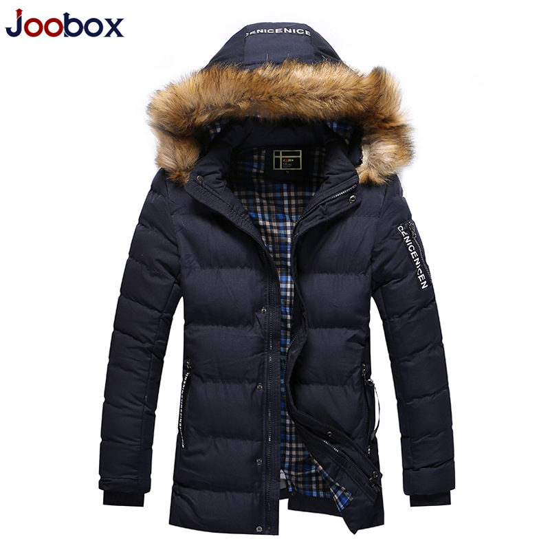 JOOBOX Hooded Parkas Casaco Masculin Winter Jacket Men New 2017 Fashion Plus Size 3XL Men's Down Jackets Coats Overcoats hombre