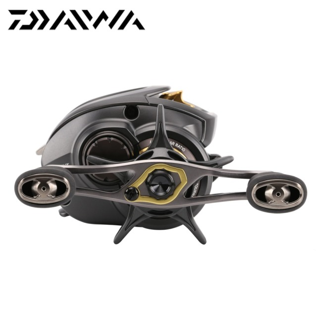 2016 Original Daiwa STEEZ SV TW 1016SV-H HL SH SHL Baitcasting Fishing Reel 6.3:1/7.3:1 Mag Dial 12+1BB Saltwater Fishing Reel
