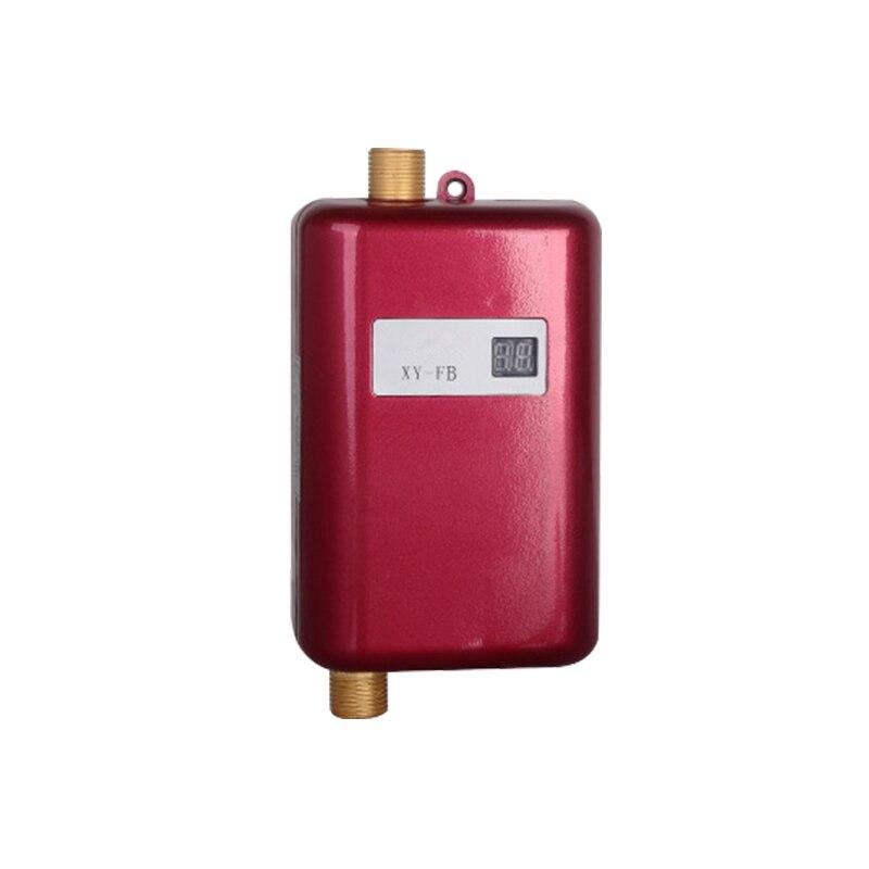 Schneidig Instant Elektrische Wasser Heizung Tankless Heißer Wasser Heizung Küche Wasserhahn Edelstahl Wasserhahn Mit Temperatur Display Eu/us-stecker Eleganter Auftritt