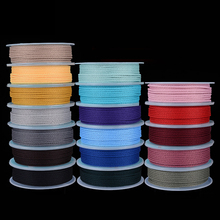 MOQ=1PC Line Hard-wearing Nonelastic DIY Necklace Bracelet Knit Jewelry Componen Bead Cords/String/Thread Non-Fading Macrame